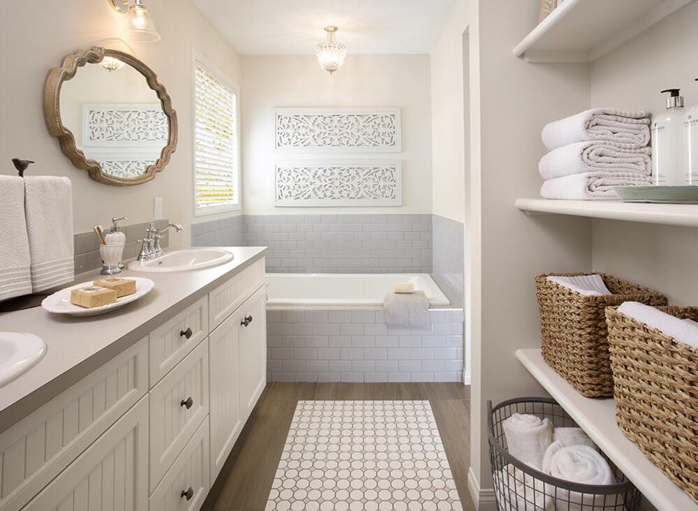 fürdőszoba polc ötletek